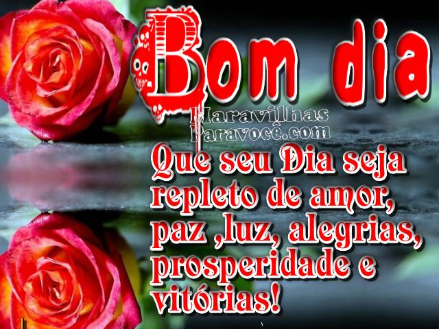 Tag Frases De Bom Dia Com Rosas Vermelhas