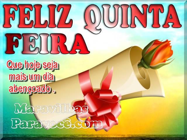 Feliz Quinta Feira Fxx